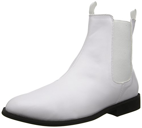 Funtasma Trooper-12, Men's Ankle Boots, White (White), 11-12 UK (44/45 EU)