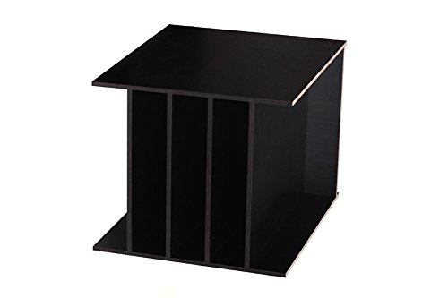 Ikea Kallax Expedit Regal Einsatz Schallplatten Aufbewahrung Schallplattenregal Vinyl Regaleinsatz vertikale Regalteilung auch für Bücher Fachteiler für 5 Einzelfächer 33,5 x 33,5 x 38 cm Schwarz Schwarzbraun