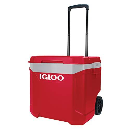 iGloo Coolers Europe Latitude 60Nevera portátil sobre Ruedas Rojo Adulto Unisex, 57L