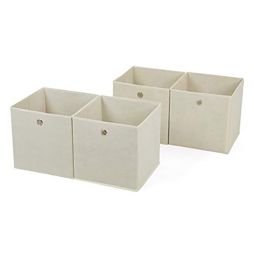 Esta Songmics caja es simple y estable y le ofrece un espacio amplio para almacenar sus accesorios diarios como los cosméticos, ropas, juguetes, etc. Tiene el diseño plegable para ahorrar el espacio. Además se queda bien con cualquier mueble en su ca...