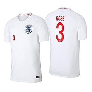 S&E Sports Danny Rose England Weiß,Maillot Danny Rose Trikot 2019/20 für Herren & Jungen
