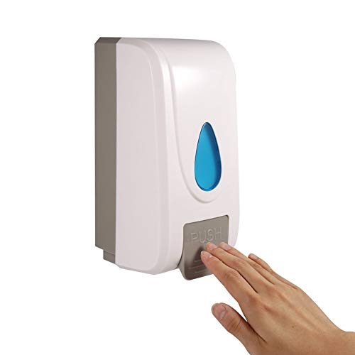 Vanvo 1000ML Soap Lotion Dispenser Wall Mounted Shower Shampoo Liquid Box Kitchen Bathroom Toilet Hand Cleanser Dispenser Shampoo