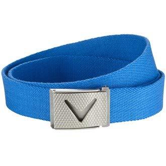 Callaway Cut-to-Fit Solid Webbed Belt, Ceinture Homme, Bleu (Azul Cielo 492), (Taille...