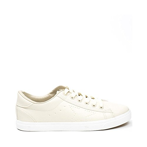 Ideal Shoes ,  Sneaker donna Beige