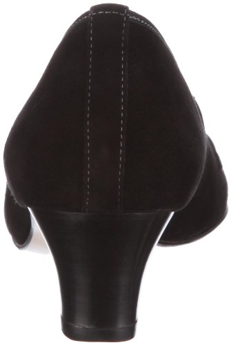 Hassia Rimini 2-304612, Scarpe col tacco donna Nero (Schwarz/schwarz)