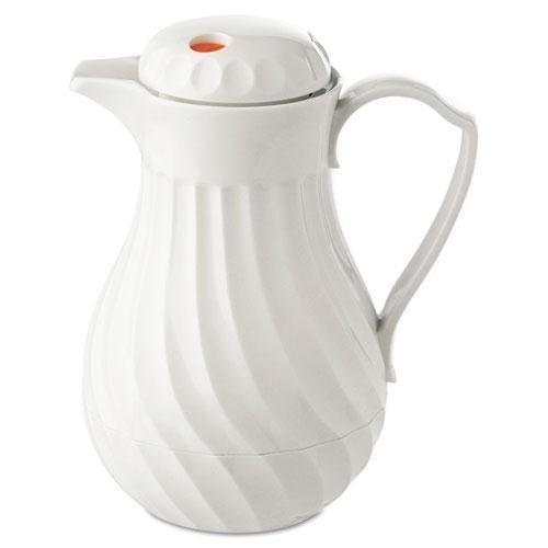hormel-poly-lined-carafe-swirl-design-40-oz-capacity-white-sold-as-1-each-polyurethane-insulation-ke