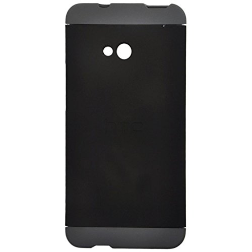 Heartly Double Dip Hard Shell Premium Back Case Cover For HTC One M7 Single Sim - Grey Black Grey  available at amazon for Rs.499