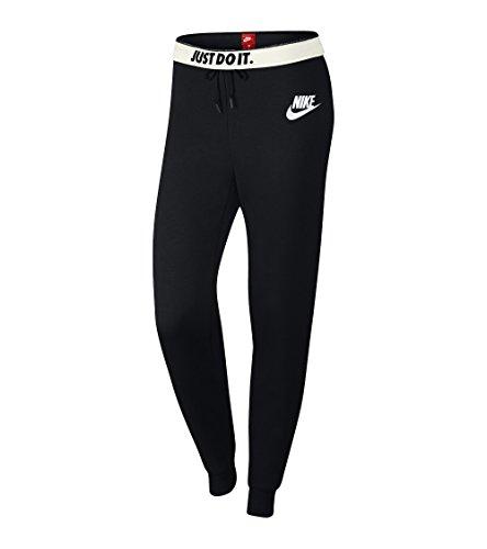 Nike Damen Sportswear Rally Hose, Black/Black/White, XL