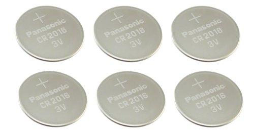 Panasonic Confezione da 6al litio CR20163V batterie a bottone multiuso nuovo