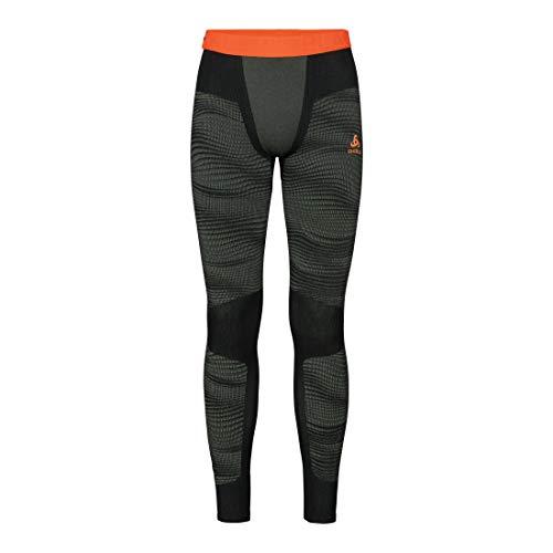 Odlo Herren Performance Blackcomb Suw Bottom Hose, Climbing Ivy/Black/Orange Clown Fish, S Preisvergleich