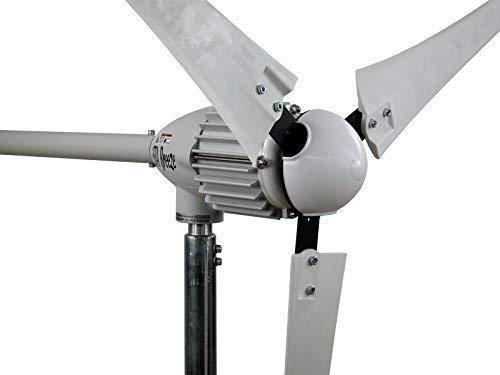 Windgenerator, Windturbine, Windrad, iSTA-Breeze®, i Serie (i-2000 (2 KW/48 V), White Edition). -#3461 weiß