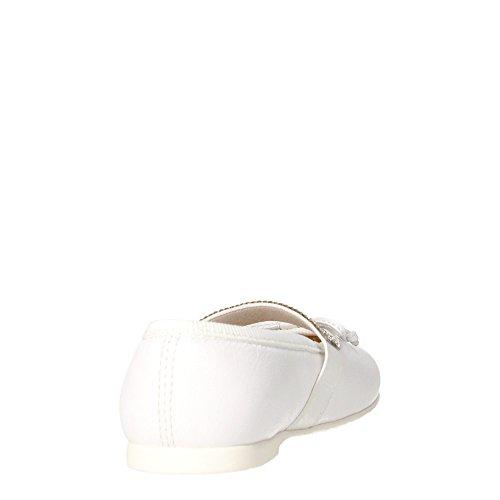 Florens E8120 Ballerines Fille Blanc