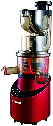 TOSHIRO 200W Slow Juicer with 9 Programs - RedTJ8644SJ