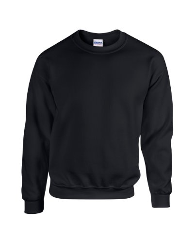 Gildan Blend TM Crew Neck Sweatshirt Erwachsene Schwarz L L,Schwarz -