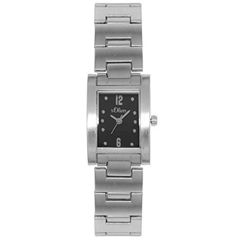 s.Oliver Damen-Armbanduhr Analog Quarz SO-15013-MQR