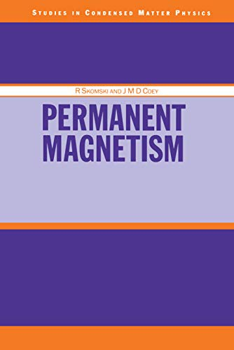 Permanent Magnetism (Condensed Matter Physics) (English Edition)
