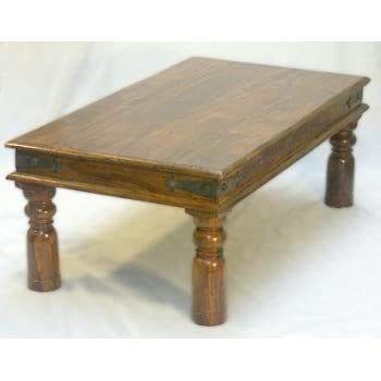 Indian Maharani Jali Coffee Table