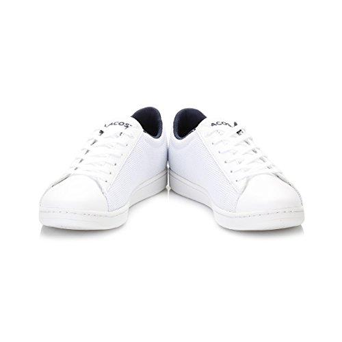 Lacoste Junior Bianco Carnaby EVO 117 2 SPJ Sneaker Bianco