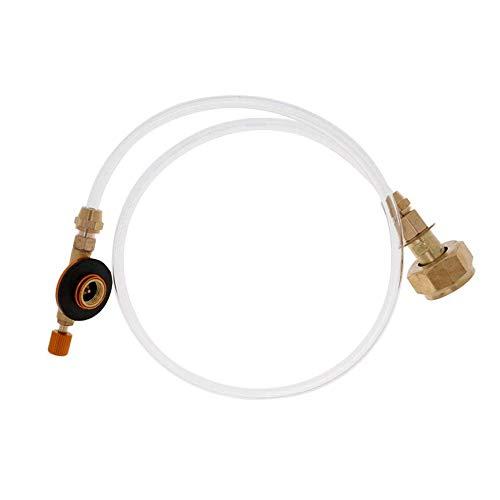 VCB Gasherd im Freien, der den aufblasbaren pneumatischen Ventil-Adapter auflädt - golden schaltet -