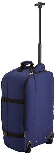 Imagen de maleta con ruedas cabin max, la más ligera del mundo, convertible en  – equipaje con ruedas de 44 litros y 1,7 kilogramos de peso azul marino  alternativa