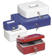 Preisvergleich Produktbild Geldkassette Office-Line, 75 x 202 x 157 mm, rot