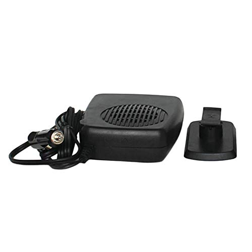 ghfcffdghrdshdfh Heater Fan Car Heating Cooling Dual Function Portable Defroster Demister 150W Dual-monitor-swing