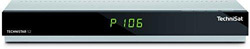 TechniSat TECHNISTAR S2, HDTV Sat-Receiver mit Single-Tuner für Empfang in HD (CI+, HDMI, USB 2.0, UPnP, Ethernet, DVR- und Timeshift-Funktion (Farbe: Silber)