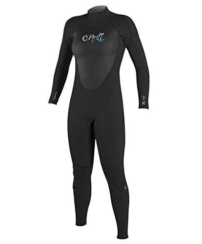 O'Neill Wetsuits Damen Neoprenanzug Epic 5/4 mm Full Wetsuit Black, 10 (Für Wetsuit Frauen Full)