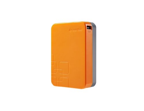 Noontec A20000O Giant Power Bank universal externer Akku-Ladegerät (20000mAh) für Smartphone/Tablet/Apple iPod/iPhone orange