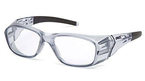 Pyramex Safety sg9810r20Emerge Plus Readers Schutzbrille, klare Full Reader Objektiv + 2.0 - Klar 2.0 Objektiv