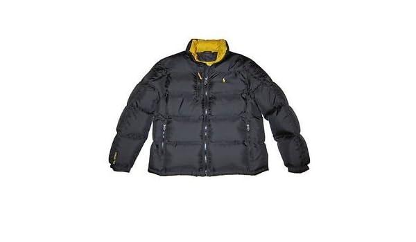 0ab5aa88638 Ralph Lauren RL250 Down Doudoune RRP £ 349-Noir-Taille L  Amazon.fr   Vêtements et accessoires