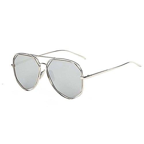 Black Temptation Katzenauge verspiegelte Straßen-Art und Weise Anti-UVA Anti-UVB Metallrahmen-Sonnenbrille