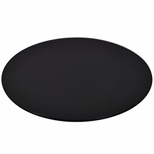 XINGLIEU Dessus de Table en Verre trempé Ronde 600mm de Cuisine Restaurant Cafe Salle à Manger XINGLIEU