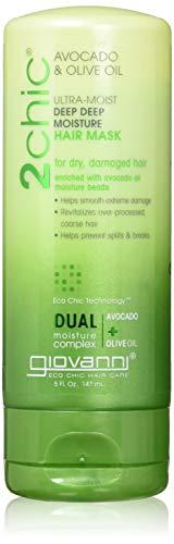 GIOVANNI - 2Chic Ultra-Moist Hair Mask Avocado and Olive Oil - 5 fl. oz. (147 ml)