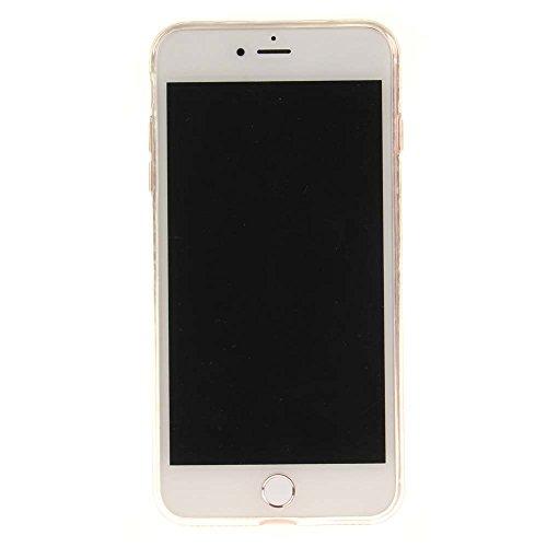 """Coque Case pour Apple iPhone 7 Plus 5.5"""" Délicat Dessin Coeurs colorés Ultra Fine Transparente Souple TPU Gel Couleur5"""