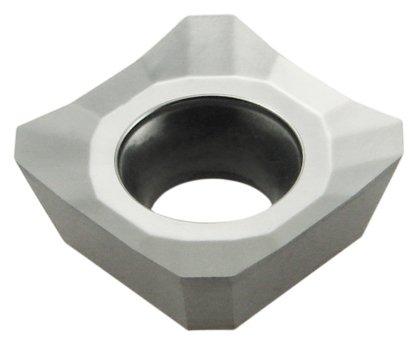 10 Stück Wendeplatten Fräsplatten zum Planfräsen für Aluminium SDHT1204AEFN-ALU-UK510