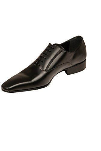 Richelieu Chaussure Homme Cérémonie cuir noir Noir
