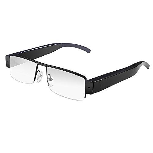 Flylinktech 2015 Fashion Brille Neueste Zwei-Tasten HD 1920  1080 Spion Kamera Glasses 1080P DV DVR versteckte Kamera Eyewear DVR Video Recorder Camcorder Sport DVR - 3