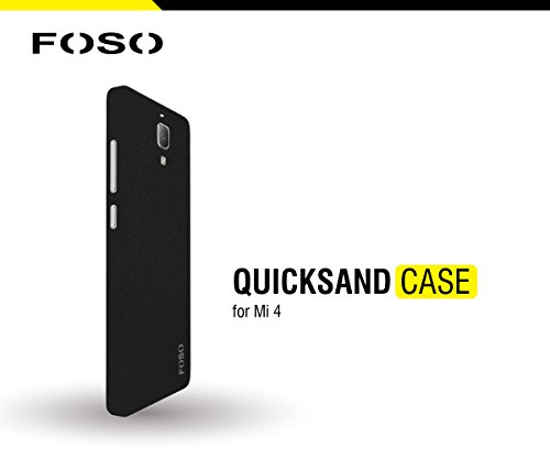 for Xiaomi Mi4 FOSO(TM) QuickSand Back Case - QuickSand (Rough) Phone Cover Shell