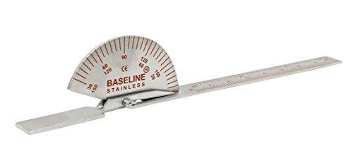 Baseline W54296 Goniómetro de Acero Inoxidable, 15 cm Para Articulaciones Pequeñas