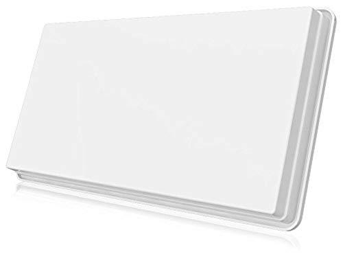 fensterhalterung selfsat Selfsat H30D2+ Twin Flachantenne für zwei Teilnehmer inkl. Fensterhalterung