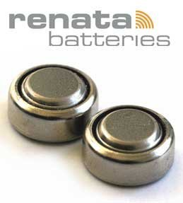 Renata 364SR621SW, Silberoxid-Batterien für Armbanduhr, in der Schweiz hergestellt, niedriger Energiebedarf, 10 Stück.