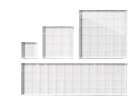 Fiskars 1 x 1-inch/ 2 x 2-inch/ 3 x 3-inch/