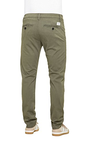 REELL Pant Flex Tapered Chino Artikel-Nr.1100 - 1042 Olive