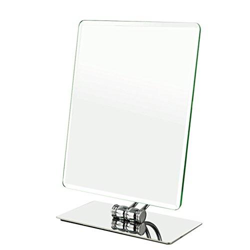 Wure specchio da tavolo quadrato monolito specchio da toeletta da tavolo hd specchio da parrucchiere principessa