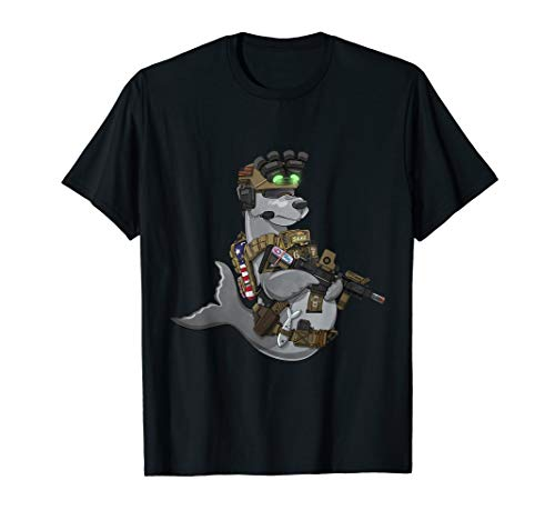 Fred Seal - Soldier Patriot Soldat T-Shirt T-Shirt