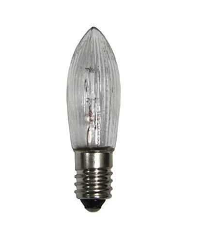 10x Spitzkerze Topkerze Ersatzkerze Glühbirne Lichterkette, Spannung:34V