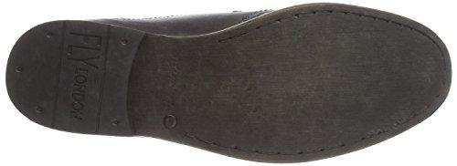 Fly London  WILK, Chaussures de ville à lacets pour homme Noir - Schwarz (Black 000)