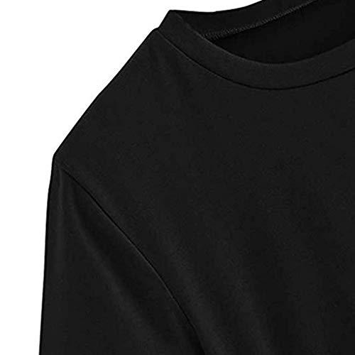Rosatro Women Loose tees,Women Casual Half Sleeve Fashion T-Shirt Blouse Boat Neck Lady Fashion Soild Latter Cross Bandage Tops for Western Regular Casual Women/Ladies Tops Black