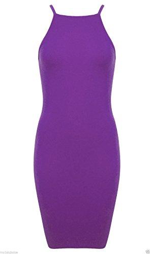 Generic Damen Etui Kleid Mehrfarbig Mehrfarbig One size Violett